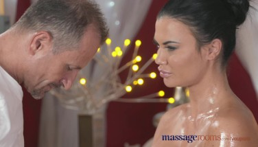 Massage Apartments Hefty Faux Knockers Cutie Has Numerous Climaxes From A Pro