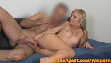 Fakeagent Thin Masseur Gets Spunked On In Audition Interview