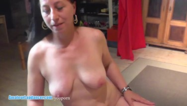 Lapdance Hand Job And Rail On Enormous Spear By Round Milf