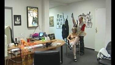 Getting Ravaged In Her Office  Julia Reaves