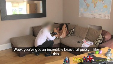 Fakeagentuk Office Bang-out For Sporty Spanish Babe