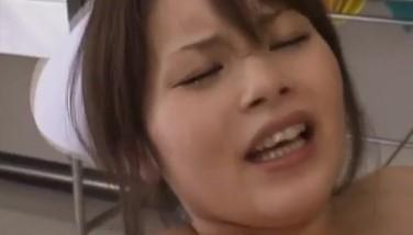 Yuki Mana Nurse Gets Spunk On Face From Men