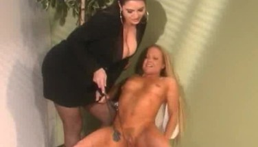 Lady Manager Slapping Her Vixen Employee