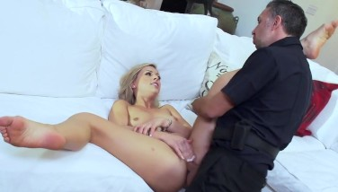 Sexy Teenage Zoey Monroe Gets Plumbed By Cop  Brazzers