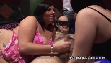 Fat Chav Gets Porked By Milky And Dark-hued Men