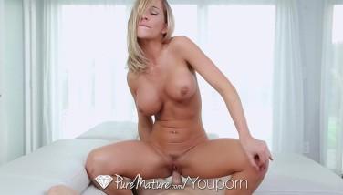 Puremature  Big-chested Mummy Fate Dixon Enjoys Rigid Cock