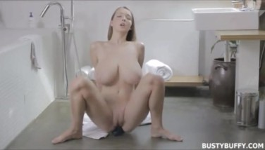 Youporn  Buxom Buffy Brushing Teeth And Masturbating