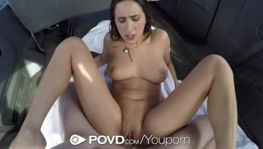 Povd  Torrid Hitchhiker Ashley Adams Knows How To Fuck