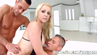 First Time Dual Intrusion Nina Trevino Gonzo On Bootie Traffic