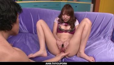 Large Pipe Leisurely Sates Ultra-kinky Ayaka Fujikita