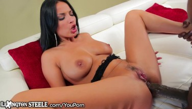 Anissa Kate Takes Hefty Dark-hued Salami In Ass