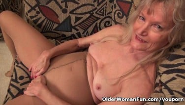 Claire Grandma - Solo Granny Lush Granny Smashing With A Youthfull Boy (07:49 ...