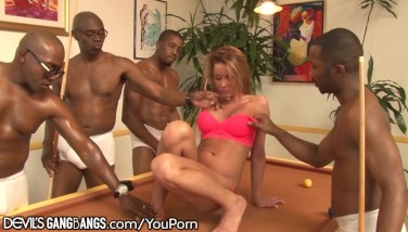 Tanner Mayes Gang-fucked In All Holes