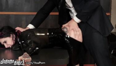 Joanna Angel Spandex Restrain Bondage And Anal