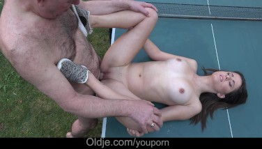 Cutie Huge Mounds Teenage Jizz-shotgun Fellate Porking And Filthy Facial Cumshot Outdoor