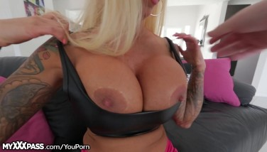 Myxxxpass Phat Boobs Mummy Point Of View Facial