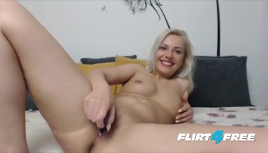 Blonde Ultra-cutie With Pierced Nips Has An Bum Fetish