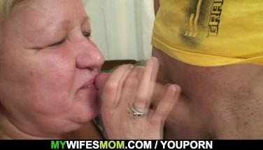 Wife Comes In When Her Massive Mother Rails My Cock