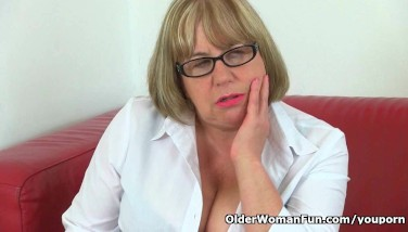 British Granny Trisha Can T Manage Her Sexual Desire