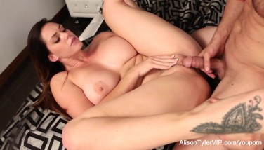 Alison Tyler Gets Her Poon Drilled
