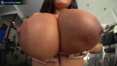 Busty Mummy Lisa Ann In Tights Always A Aficionado Of Gigantic Cocks