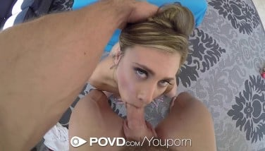 Povd Wild Blond Anya Olsen Point Of View Deepthroat