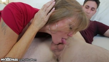 Horny Mother Gives Soninlaw A Lesson