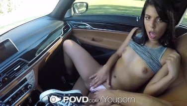 Povd Gina Valentina Thumbs Her Bum When Penetrated In Pov