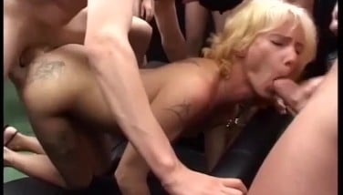 amateur mom anal gang bang