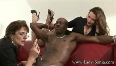 Sonia And Her Buddy Take Turns With Bbc