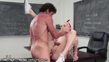 Elsa Jean Caught Adultery By Dangled Teacher
