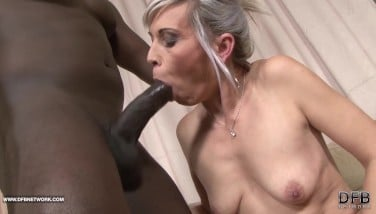 Black And Milky  Big Black Cock Jism Guzzling Hoe Luvs Massive Dark-hued Weenie In Her Ass