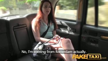 Fake Taxi Inborn Titties Redhead Inhales Dick