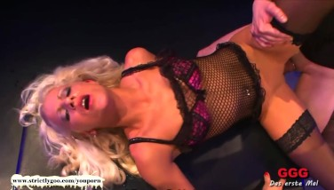 Blonde Stunner Ultimate Mass Ejaculation Dame  German Goo Girls