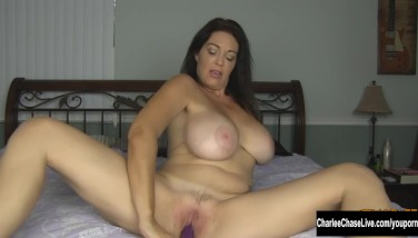 Time To Get Off With Ginormous Boob Mummy Charlee Chase