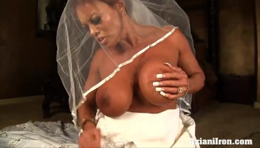 Sybian Rail On Her Wedding Day