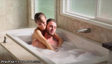 Nurumassage Stepmom Draws Bathtub For Son