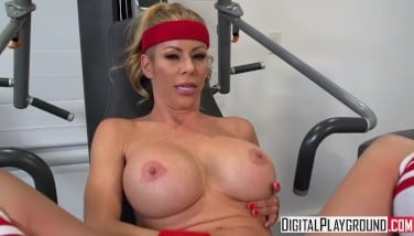 Wettest Exercise Ii  Alexis Fawx Gets Romped At The Gym And Takes A Enormous Load