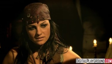 Classic Pirates Two Jesse Jane And Belladonna In Molten Harsh Girl-on-girl Sex