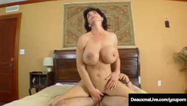Mature Mummy Deauxma Has Fellow Plaything Over For Deep Bootie Fucking