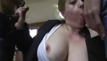French Teacher Group-fucked By Her Students