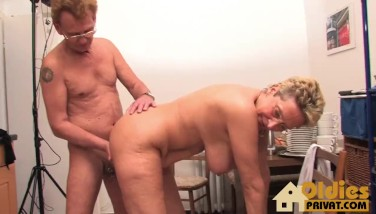 Oldie Porno Thick Tits