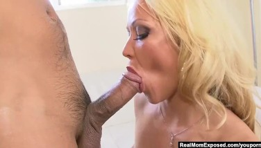Realmomexposed  Mummy Austin Taylor's Enormous Donk Gets Lubricated Up