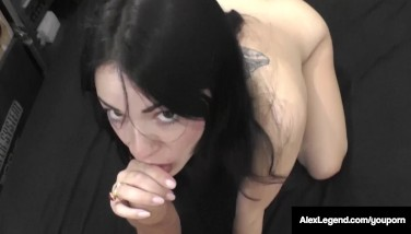 Frenchie Alex Pioneer Plumbs Uk Ava Dalush And Ejaculates On Her Feet