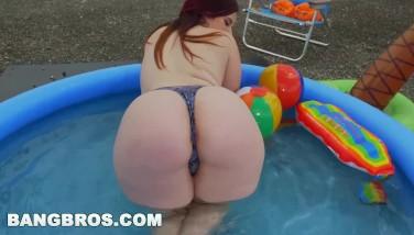Bangbros  Phat Ass White Girl Virgo Peridot Bi-racial Butt Parade Gig Ap15590