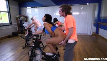 Bangbros  Latina Rose Monroe's Sexercise Flip Class Ap16089