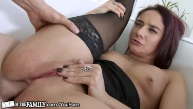 Naughty Cougar Caught Doing Ass Fucking With Daughter Boyfriend