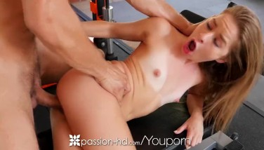 Passionhd After College Gym Plow With College Chick Lilly Ford