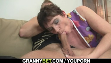 Hot 60 Years Old Dame In Stockings