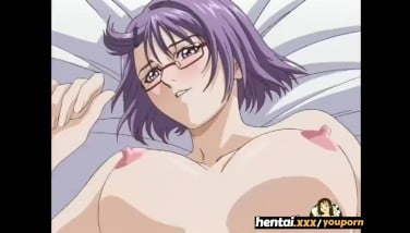 Nerdy Nymph With Glasses Takes It Secretly At The Beach  Hentai.xxx